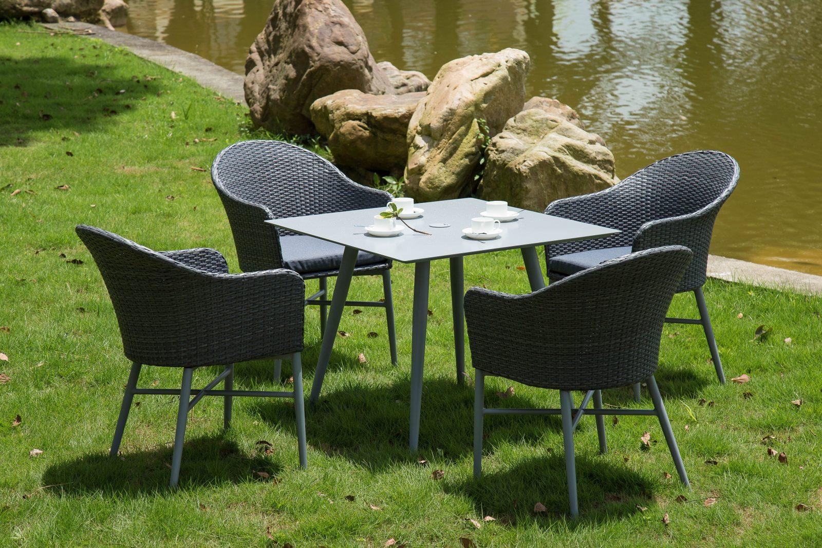 Amazing Santorini 4 Seater Dining Set