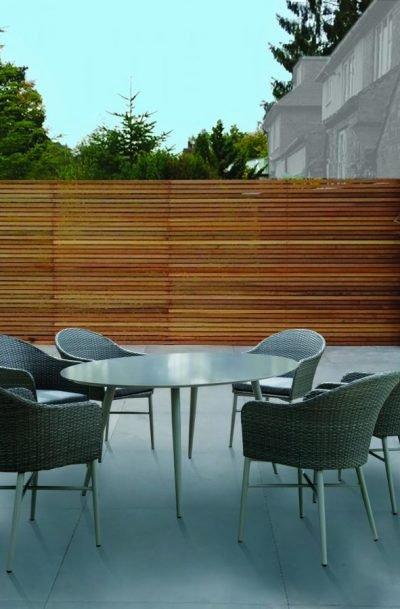 Santorini 6-Seater Oval Dining Set