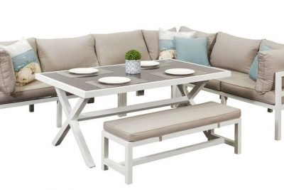 Valencia Corner Dining Set Bench