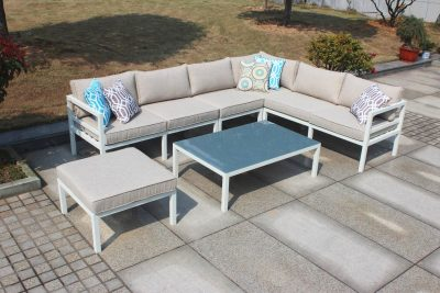 Valencia Corner Sofa Set Stool