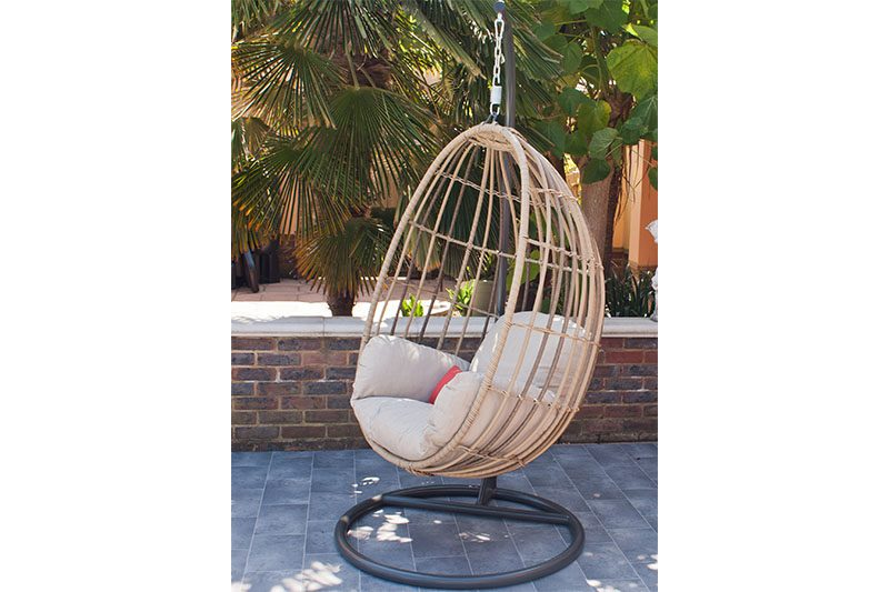 Corfu Hanging Chair Side