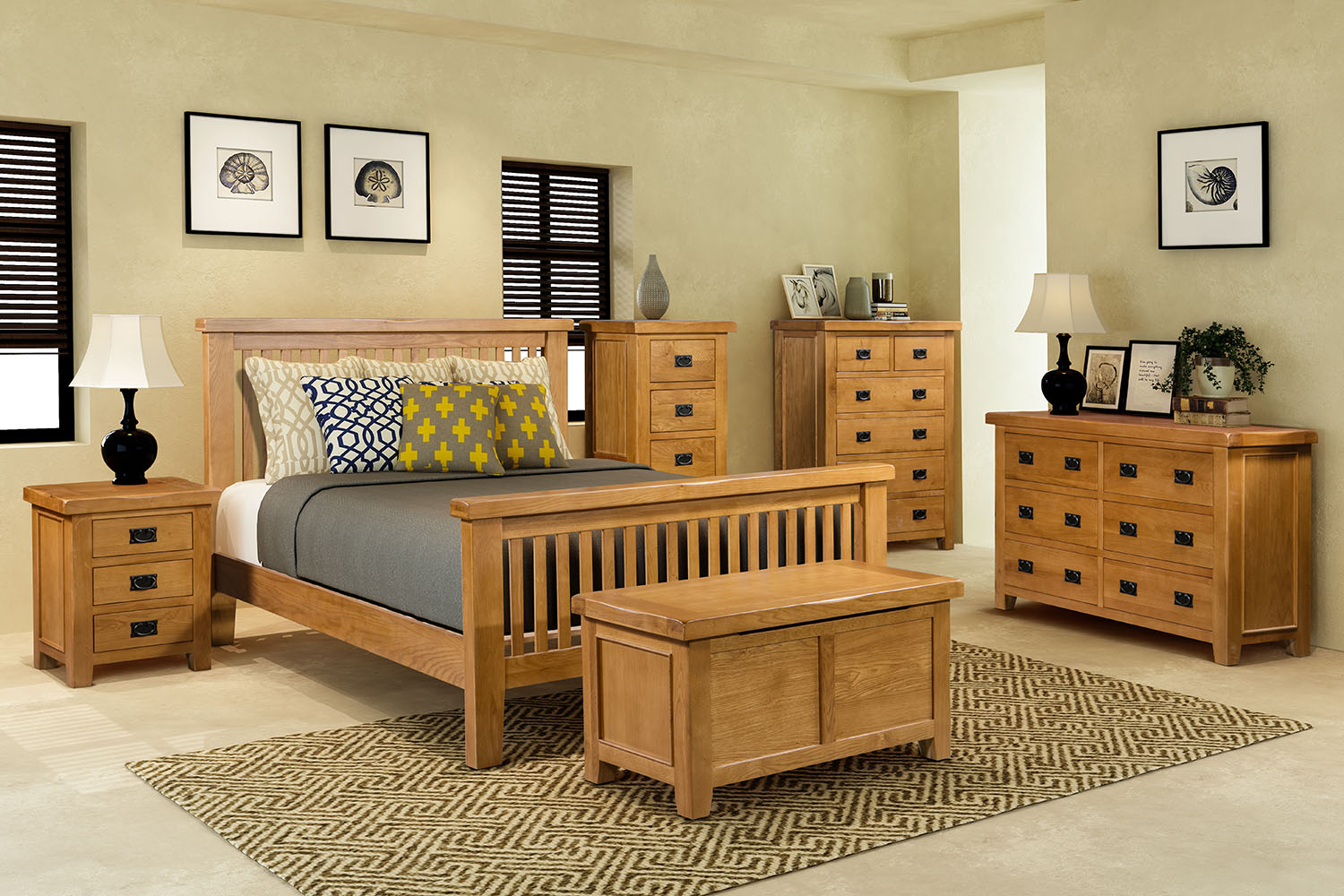 Casamore Oak Bedroom Furniture Firmans Direct