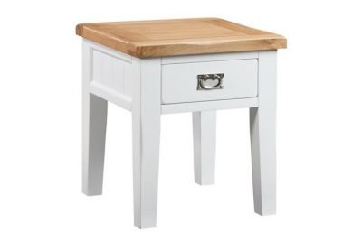 Montreal Painted Oak Lamp Table