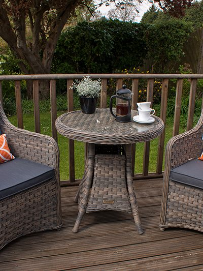 Corfu Woodash Bistro with Dining Chairs 1