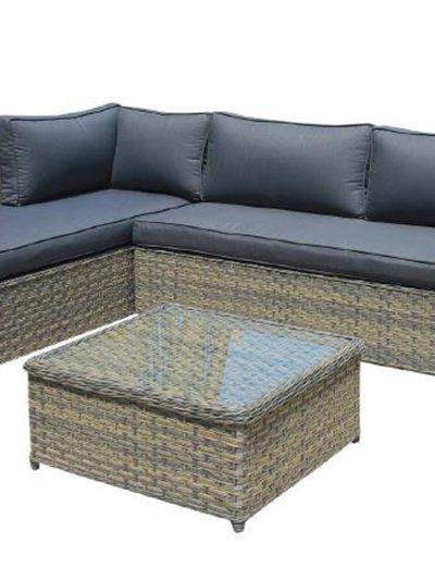 Corfu Woodash Chaise Set 1