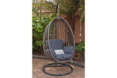 Corfu Woodash Hanging Chair 1