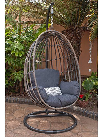 Corfu Woodash Hanging Chair 1