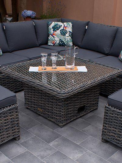 Miami Petite Corner Dining Set 1