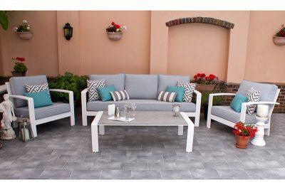 St Lucia 3 Seater Sofa Set 1